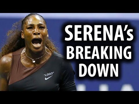 Serena Williams Breaks Down Over Losing US Open