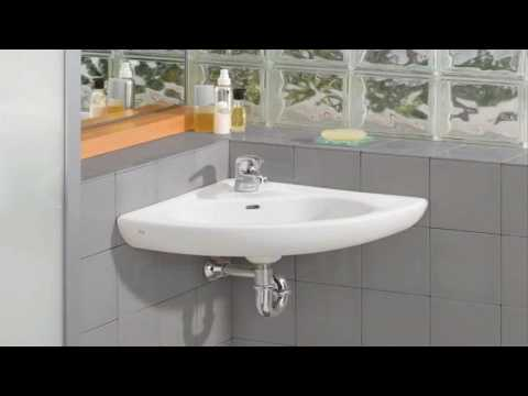 Small Corner Bathroom Sink With Pedestal