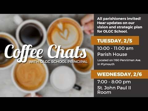 Coffee Chat With the Principal