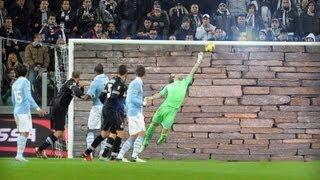 Federico Marchetti: Supasaves Vs Juventus - Hd