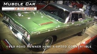 Muscle Car Of The Week Video #31: 1969 Road Runner 426 Hemi Convertible