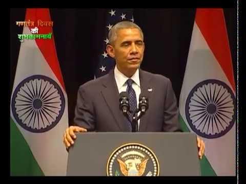US President Barack Obama's speech at Sirifort Auditorium