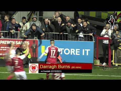 Goal: Darragh Burns (vs Dundalk 22/10/2021)