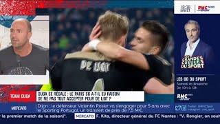 PSG - Le coup de gueule de Duga sur l'attitude de De Ligt