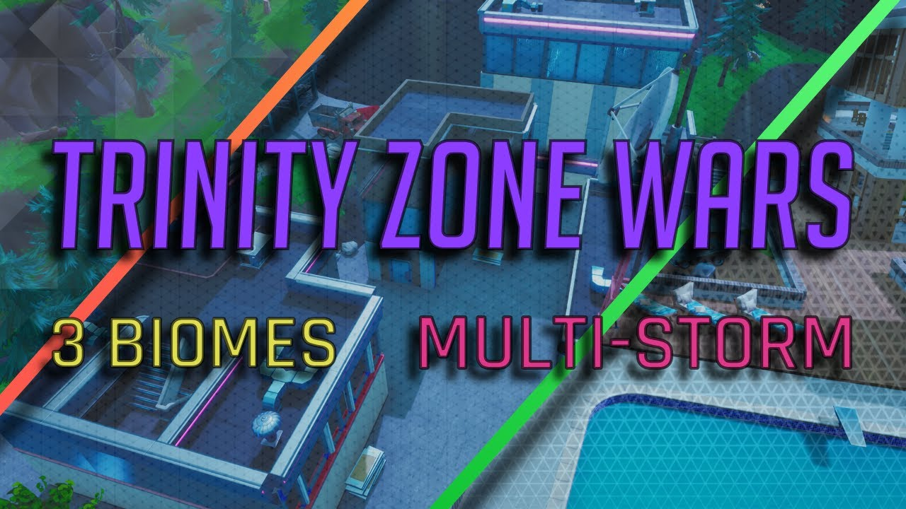 *TRINITY ZONE WARS* REAL Storm | 3 Beautiful POIs | FASTEST start with  RANDOM LOOT | MAKER of Hybrid