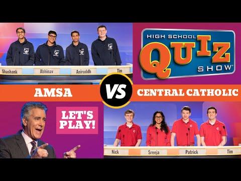 High School Quiz Show - Season 6 Premiere: AMSA vs. Central Catholic (601)