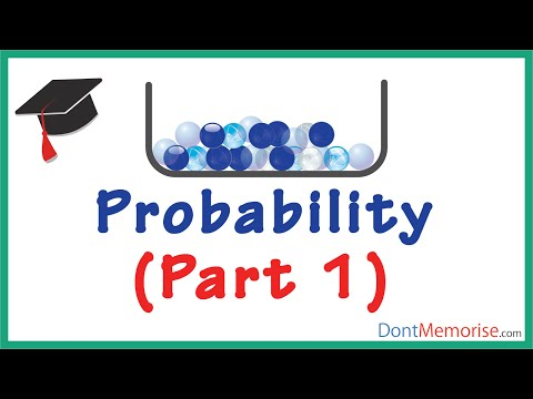 Probability – Example (Marbles Drawn) Part 1 ( GMAT / GRE / CAT / Bank PO / SSC CGL)