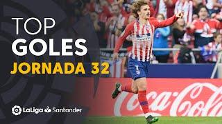 Todos los goles de la jornada 32 de LaLiga Santander 2018/2019