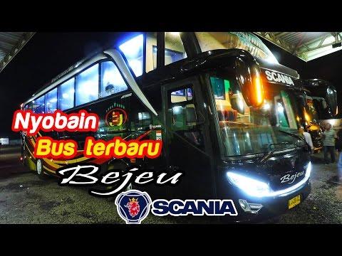 Nyobain bus terbaru Bejeu SCANIA K360 Opticruise: Elegan, nyaman, & cepat | Bogor—Semarang