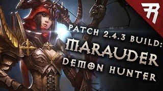Diablo 3  Demon Hunter Build: Marauder Grenades GR 110+ (Season 13)