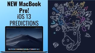 NEW 2019 MacBook Pro with 8 CORES! // WWDC 2019 iOS 13 Predictions