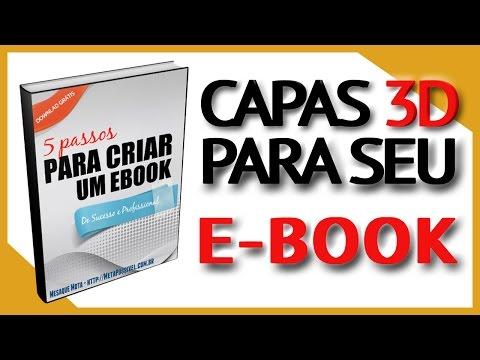 💰 Como Criar Uma Capa 3D Grátis e Profissional Para Seu Ebook! #119