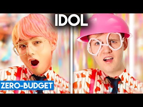 K-POP WITH ZERO BUDGET! (BTS - IDOL)