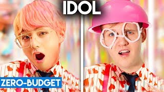 Download lagu K-POP WITH ZERO BUDGET! (BTS - IDOL) MP3