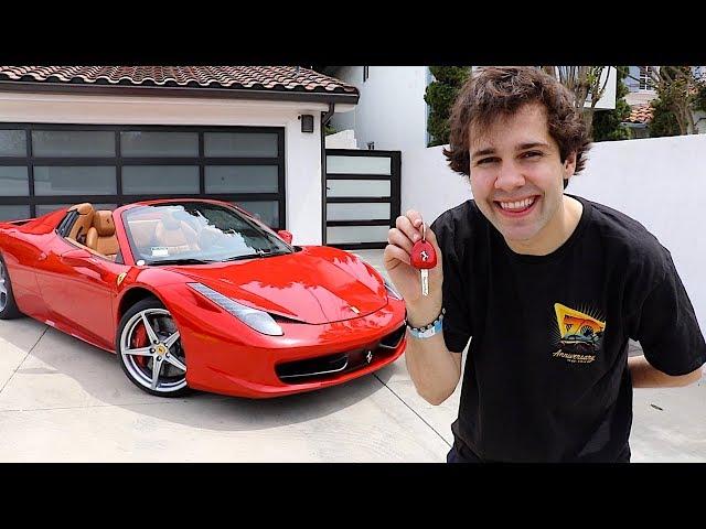 BUYING MY DREAM CAR!! (FERRARI)