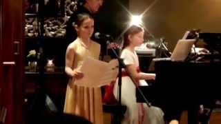 amira willighagen singing duet with alma deutscher from almas opera cinderella