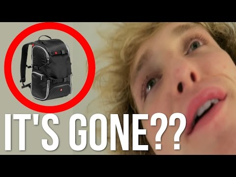 Thumbnail: I LEFT MY BAGS ON THE PLANE!