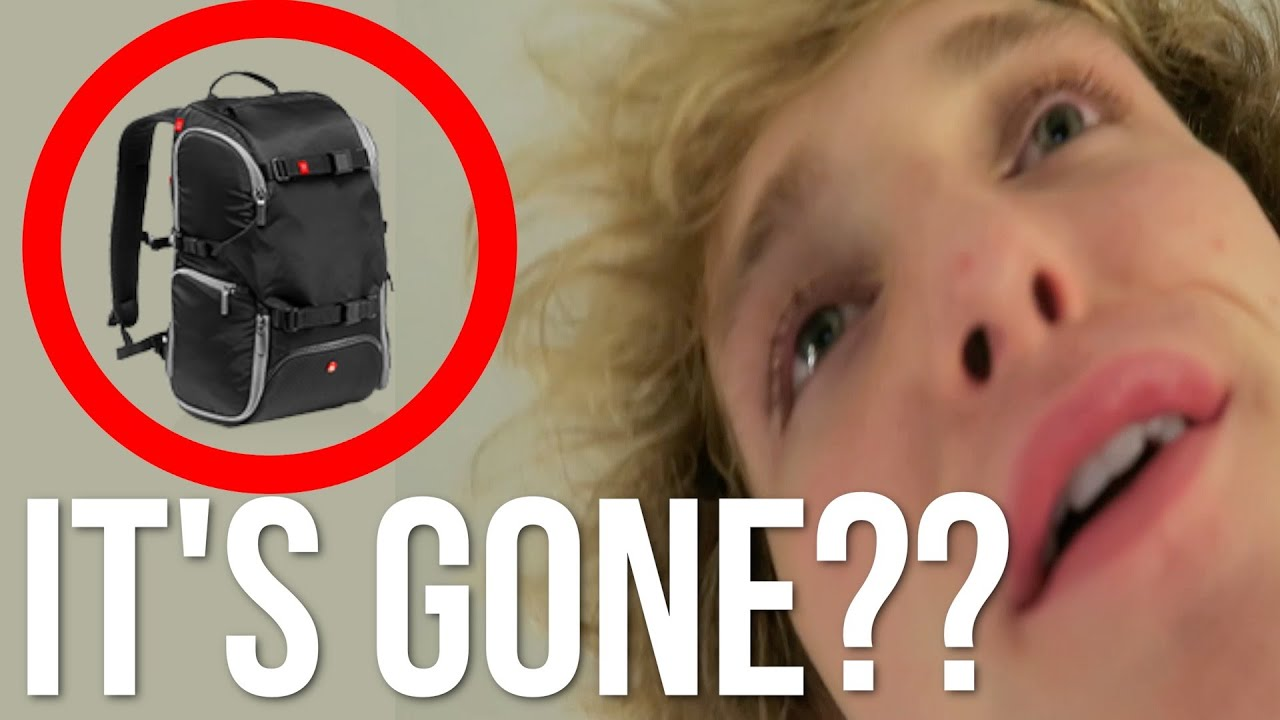 I LEFT MY BAGS ON THE PLANE!