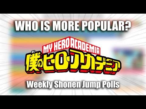boku-no-hero-academia-popularity-polls『weekly-shonen-jump』