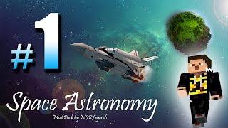 Újra itt :) MINECRAFT Modokkal | Space astronomy gameplay EP #1