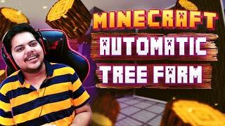 MINECRAFT AUTOMATIC TREE FARM JAVA EDITION 1.16.3 | MINECRAFT GAMEPLAY #13