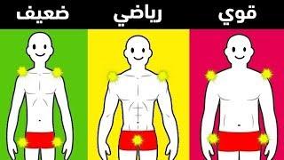 تعرف على نوع جسدك عن طريق هذا الفيديو !!
