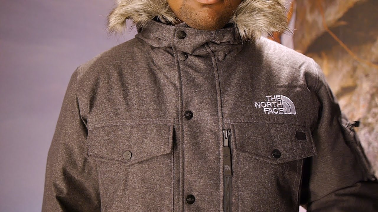 504957e5498c4 The North Face Gotham Jacket Quick Look - YouTube