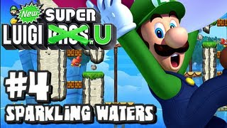 New Super Luigi U (2048p) - Part 4 - Sparkling Waters