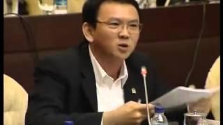 Aksi Hebat Ahok Di Rapat DPR, Semua Bungkam