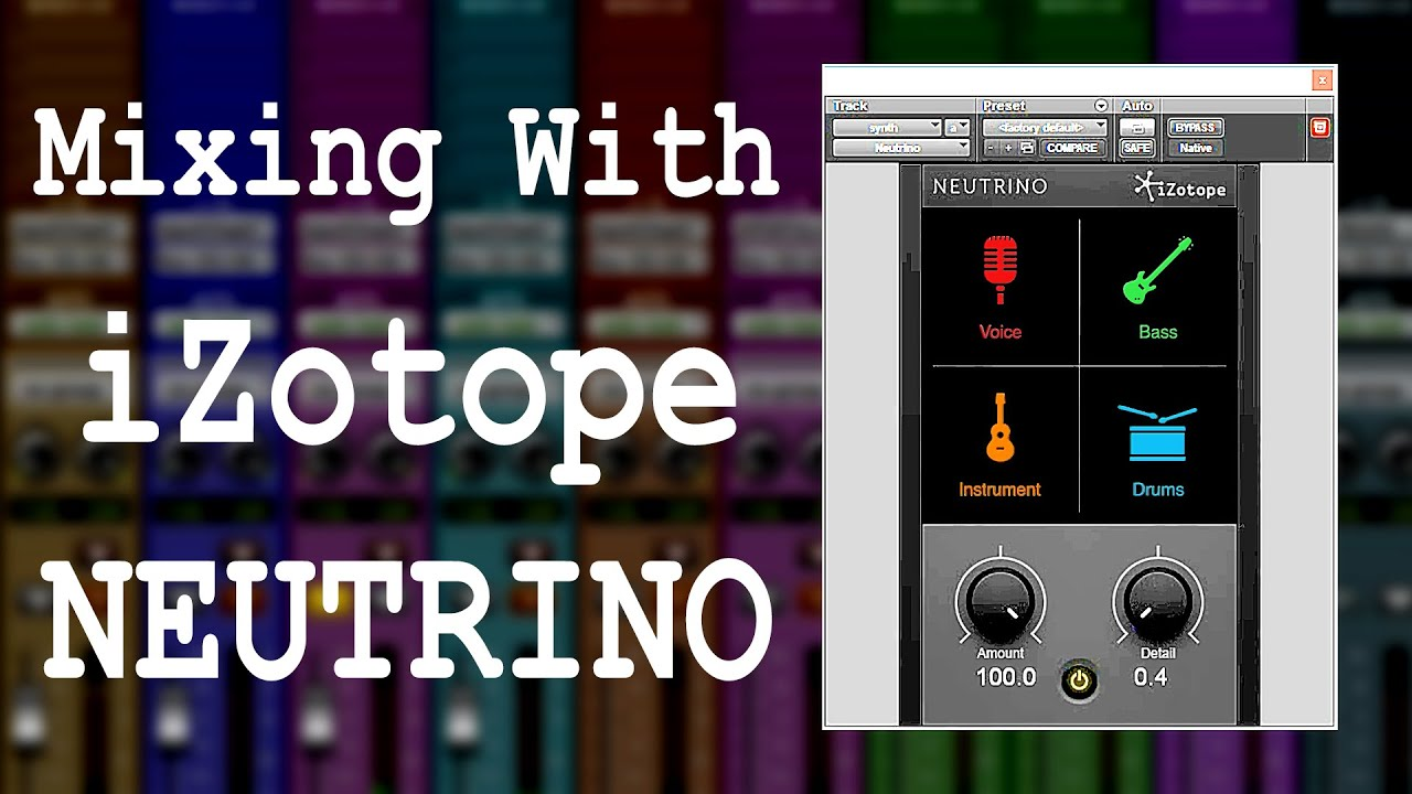 See what iZotope NEUTRINO can (or can't) do