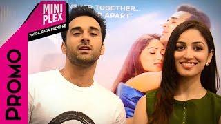 Pulkit Samrat & Yami Gautam Promotes 'Sanam Re' on Miniplex - Latest Hindi Movie'