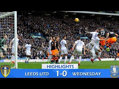 Leeds United 1 Sheffield Wednesday 0 | Extended highlights | 2016/17