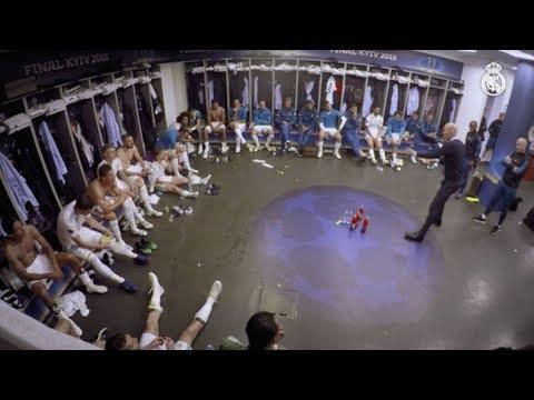 La charla magistral de Zidane al descanso de la Décimotercera ⚽ Real Madrid ⚽ 2018