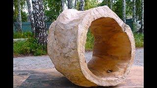 Уроки скульптуры и рисунка: заготовка для скульптуры из дерева, часть 2