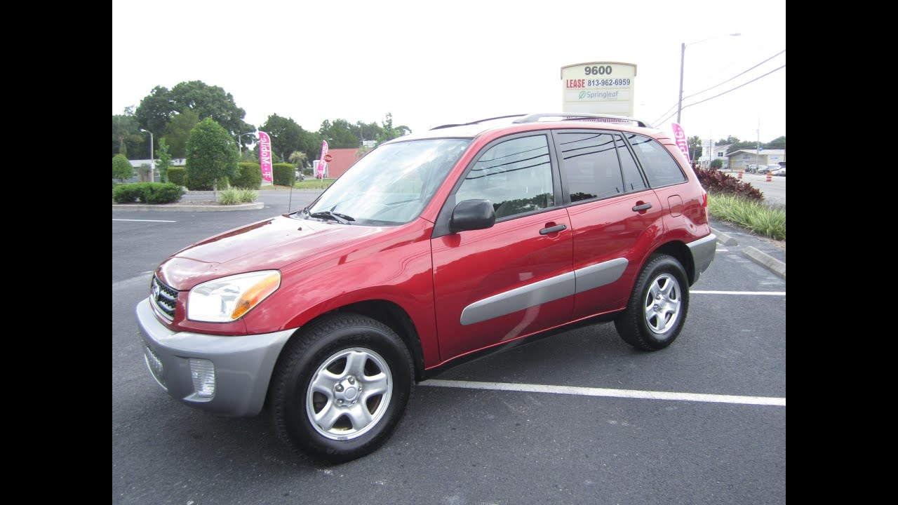 sold 2003 toyota rav4 93k miles one owner meticulous motors inc florida for sale youtube. Black Bedroom Furniture Sets. Home Design Ideas