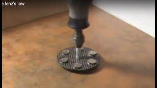 No intro - magnetic levitating top via lenz's law thumbnail