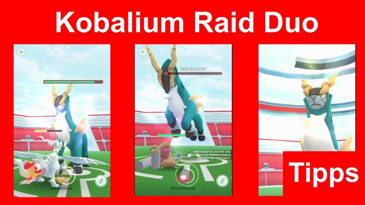 Kobalium Raid Duo gewinnen. Wie man Kobalium zu zweit im Tier 5 Raid besiegt- Pokemon GO Deutsch 176
