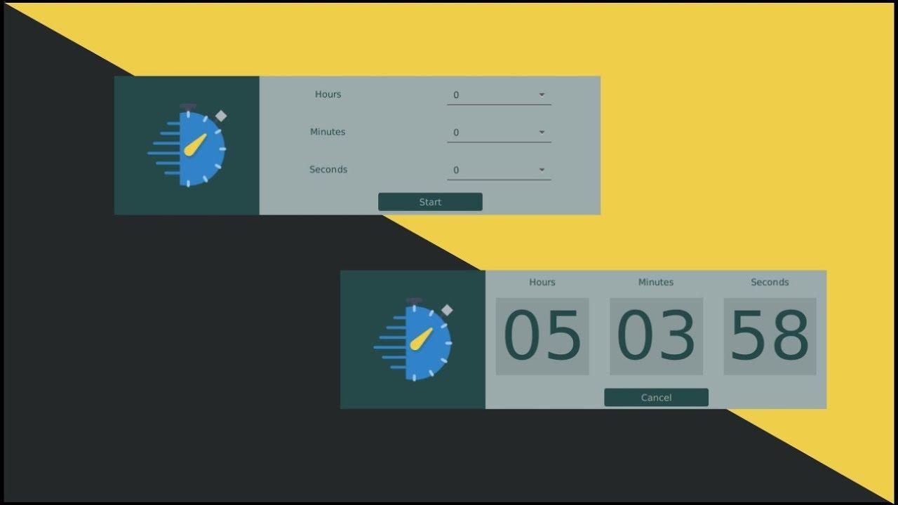 Javafx Tutorial #2 Countdown Timer using SceneBuilder (In Eclipse) Part 1 :  Building Layout