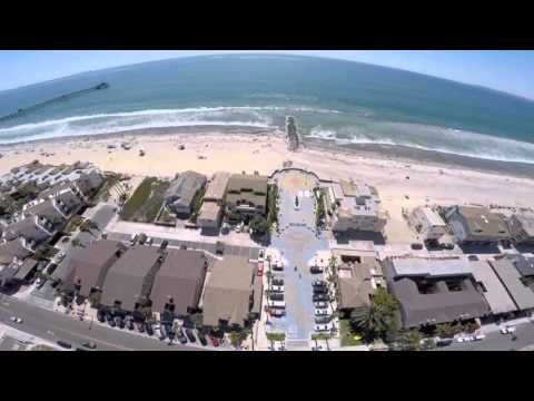 Imperial Beach California (aerial drone view)