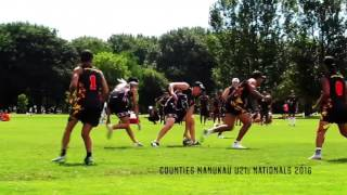 Counties Manukau U21s Mens Nationals 2016