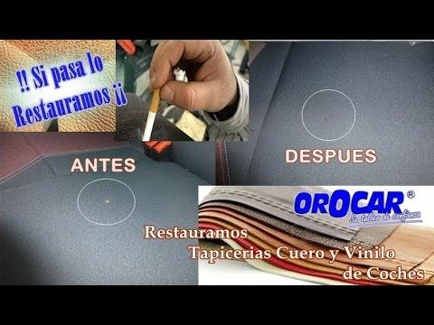RESTAURACION y REPARACION DE ASIENTOS COCHES MADRID