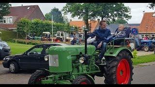 13e Editie Oldtimers Toertocht Oude Tractoren Oosterstreek fr. 2018