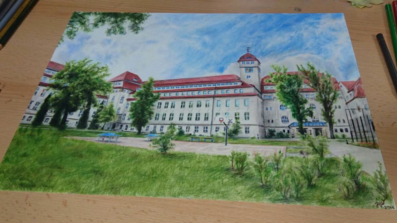 It is a graphic of Gargantuan School Drawing Images