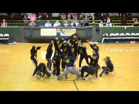 Break Dance Showcase for PINK OUT Basketball Game (Rabun Gap Nacoochee School)