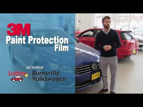 3M Paint Protection at Burnsville Volkswagen - Invisible Film - Clear Bra - VW - Mpls, St Paul, MN