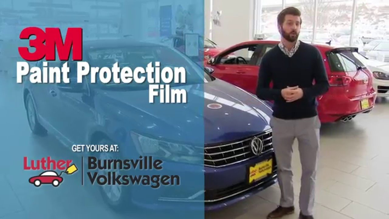paint protection  burnsville volkswagen invisible film clear bra vw mpls st paul