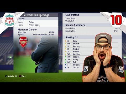 OMG ARSENAL WANTS TO SIGN ME! *NEW MANGER*! - FIFA 18 LIVERPOOL CAREER MODE #10
