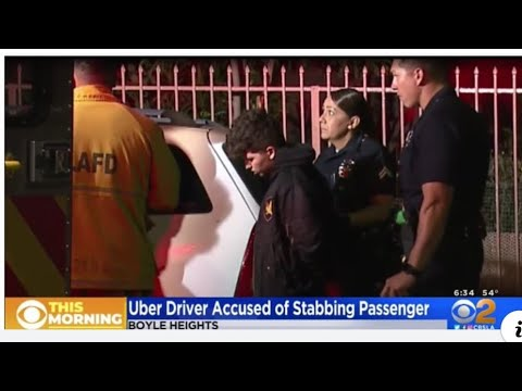 Uber Driver Stabs Passenger Over No Car Seat For Kid? Wtf