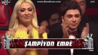 The winner of the Voice of Turkey 2016 EMRE SERTKAYA