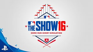 MLB The Show 16 - Home Run Derby Simulation Video | PS4, PS3